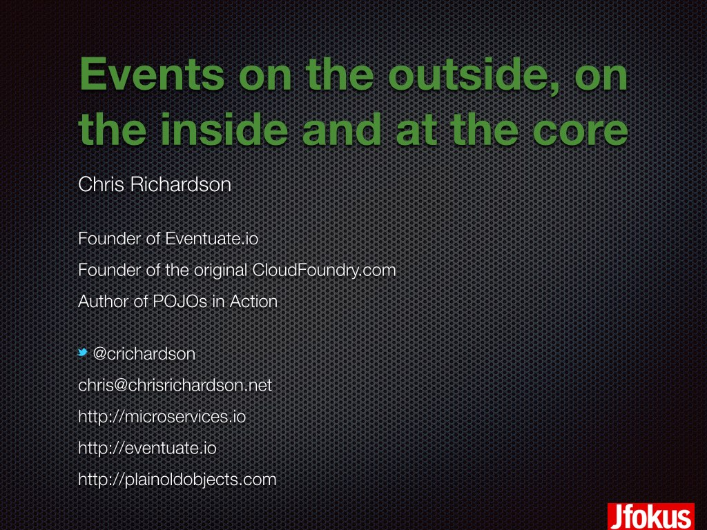 Microservices Presentations